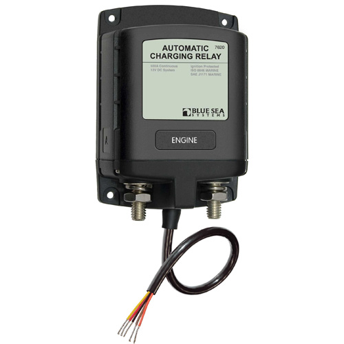 Blue Sea Systems ML-Series Heavy Duty Automatic Charging Relay Sale $259.99 SKU: 9369059 ID# 7620 UPC# 632085076207 :