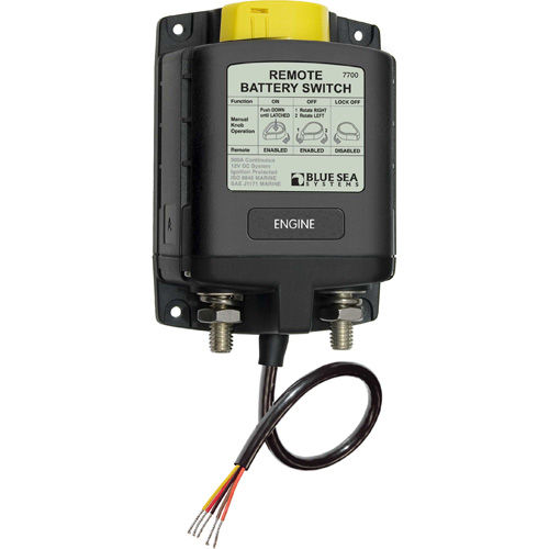 Blue Sea Systems ML-Series Heavy Duty Remote Battery Switch Sale $224.99 SKU: 9369067 ID# 7700 UPC# 632085077006 :