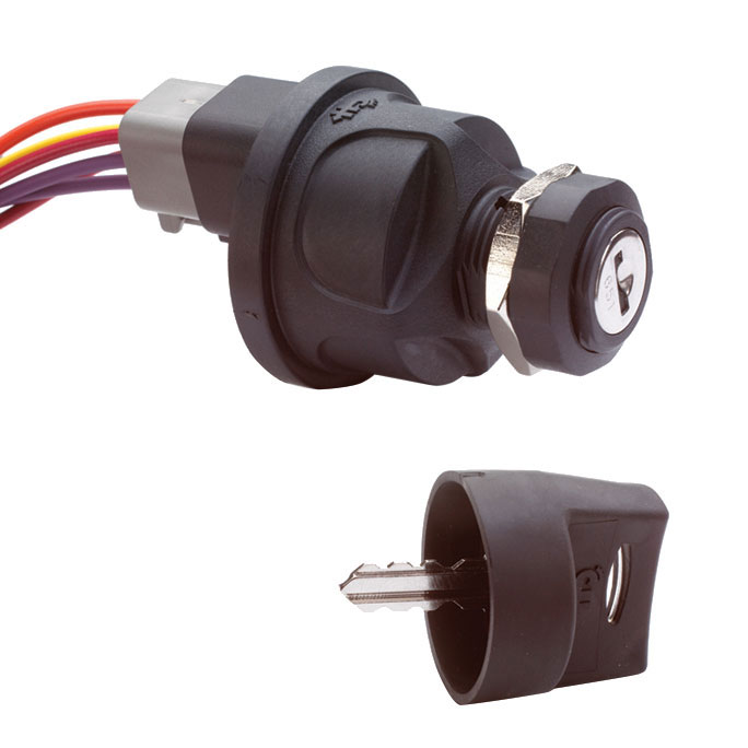 Cole Hersee 3 Position Sealed Ignition Switch Sale $67.99 SKU: 9369380 ID# 95060-60-BP UPC# 632850431880 :