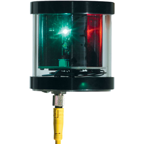 Orca Green Marine LED TriAnchor Light with Photodiode, 0.5A @ 12V DC Draw, 9–16V DC Voltage Range, 2.7H x 2.7D