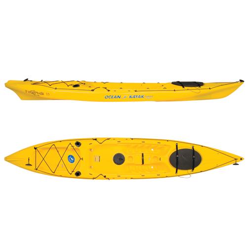 Ocean Kayak Prowler 13 Sit-On-Top Angler Kayak, Yellow