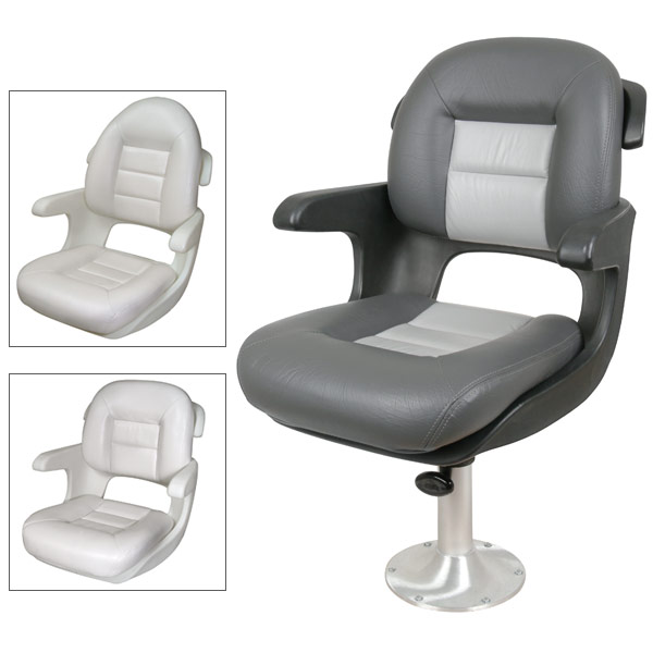 Tempress Elite Helm Seat, High Back, White