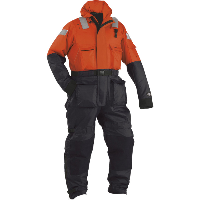 Stearns Challenger Anti-Exposure Work Suit, Orange/Black, M, 40 to 42