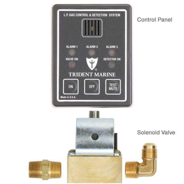 Trident Marine 12V LP Gas Control & Detection System