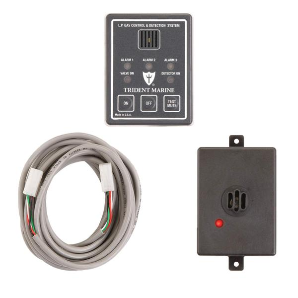 TRIDENT RUBBER LPG Gas Detection & Control System without ...