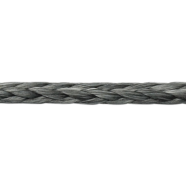 Fse Robline Ocean 3000 Dyneema Single Braid Line, Gray, 6mm, 7194lb. Breaking Strength
