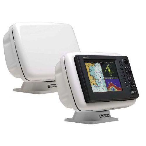 Navpod Grand Prix PowerPod, Pre-Cut for Garmin 5008/5208