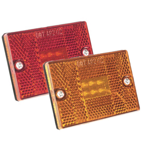 Grote Industries Stud Mount LED Sidemarker/Clearance Light, Red LED Sale $16.49 SKU: 9523143 ID# 47852-5 UPC# 89373127583 :
