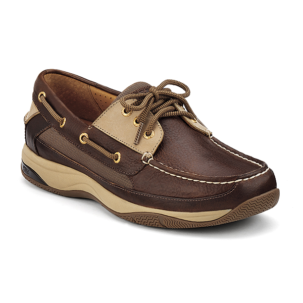 Sperry Men's Gold Cup Billfish ASV Boat Shoe Brown/gold