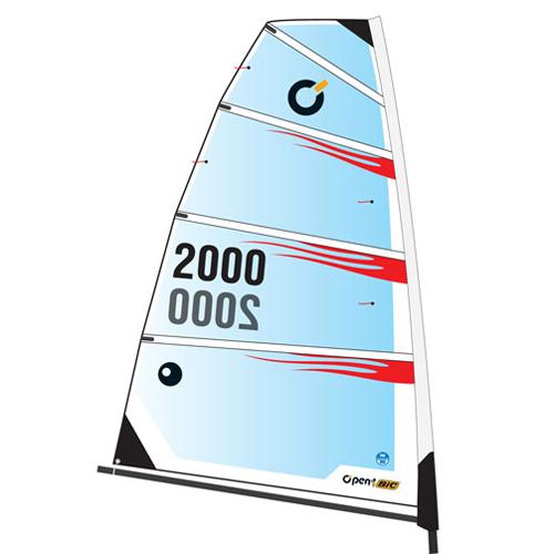Bic Sport O'pen Bic 4.5m² Monofilm Sail Sale $499.95 SKU: 9757683 ID# OB53323 UPC# 883667001067 :