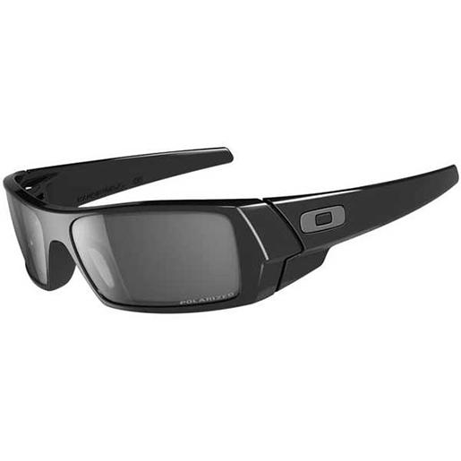 Oakley Gascan Sunglasses, Polished Black/gray Frames with Gray Polarized Lenses Sale $140.00 SKU: 10350635 ID# 12-891 UPC# 700285128917 :