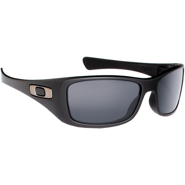 Oakley Hijinx Sunglasses, Matte Black Frames with Gray Polarized Lenses Sale $140.00 SKU: 9826256 ID# 12-929 UPC# 700285129297 :