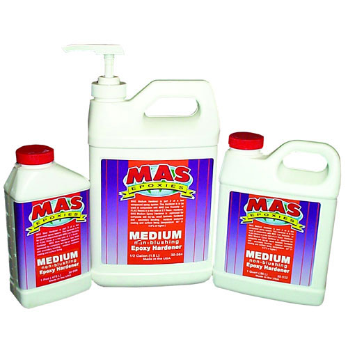 Mas Epoxies Mas Medium Hardener, 27.5 Gallons