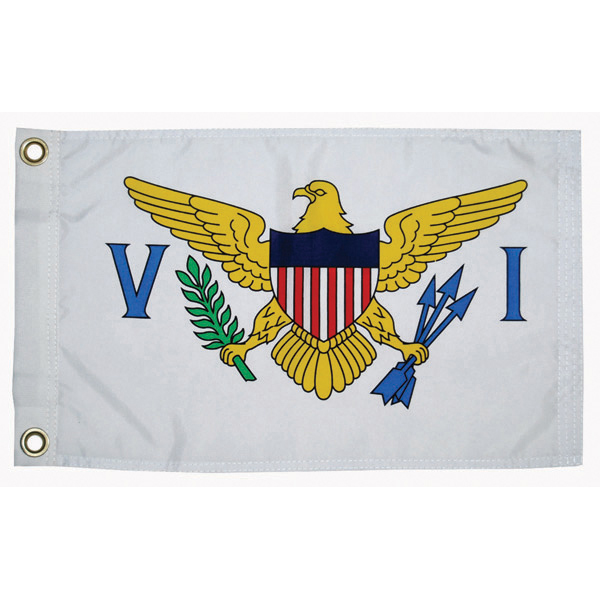 Taylor Made Us Virgin Island Courtesy Flag; 12'' X 18''