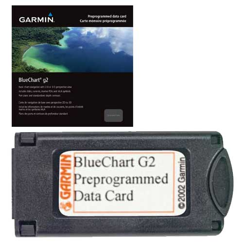 HEU500S, Blyth to Lowestoft, BlueChart g2, Garmin Datacard