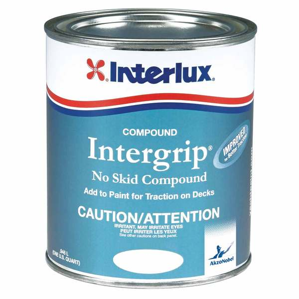 Interlux intergrip no skid compound paint additive west for No skid paint