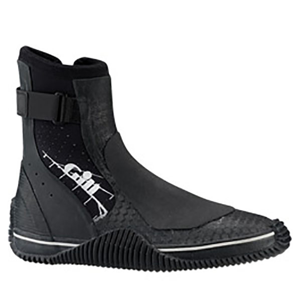 Men's Trapeze/Dinghy Boots - Black - 7