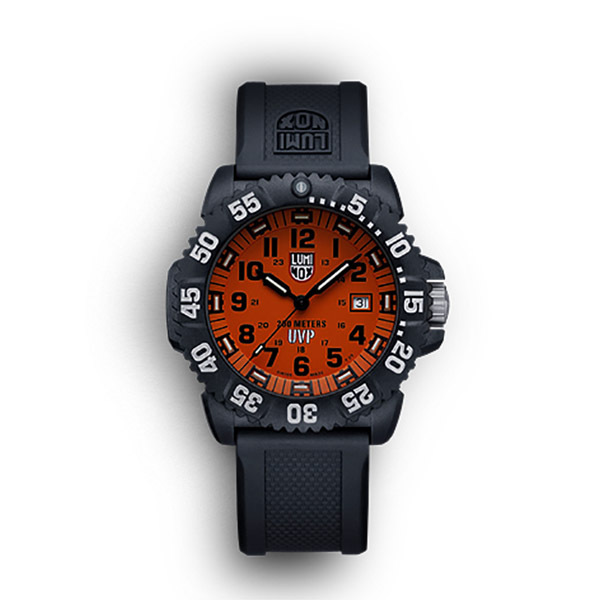 Luminox EVO Navy SEAL Colormark Series Watch, Orange