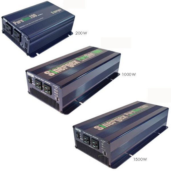 Sinergex 12 Volt DC Electric System Inverter, 200W Continuous Capacity, 400W Surge Capacity, 240V Model, 8.6L x 5.9W x 2.5H, 2.2lb. Sale $199.99 SKU: 10495042 ID# PS2-200-212 UPC# 186299000010 :