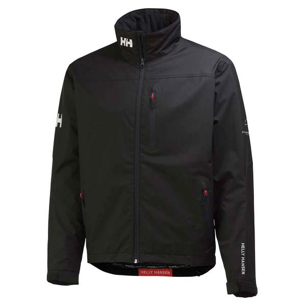 Helly Hansen Men's Crew Mid Layer Jacket Black