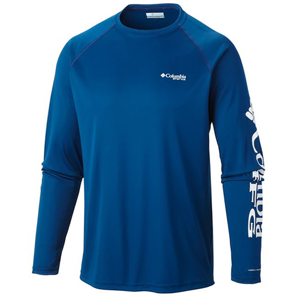 Columbia men s pfg terminal tackle long sleeve tee west for West marine fishing shirts