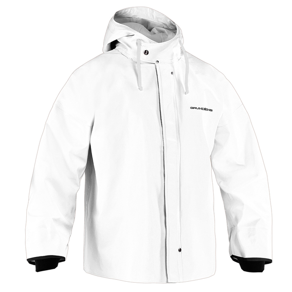 Grundens Men's Brigg 44 Parka White Sale $169.33 SKU: 16652935 ID# B44WM UPC# 7391652842173 :