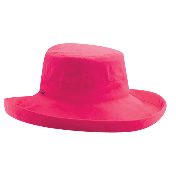 Dorfman Pacific Women's Cotton Big Brim Hat Purple Sale $22.88 SKU: 16281461 ID# DPLC399-FUCHSIA UPC# 16698478601 :
