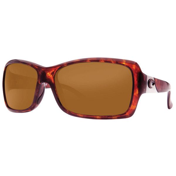 Costa Women's Islamorada 580P Sunglasses, Tortoise Frames with Amber 580P Lenses Tortoise/amber