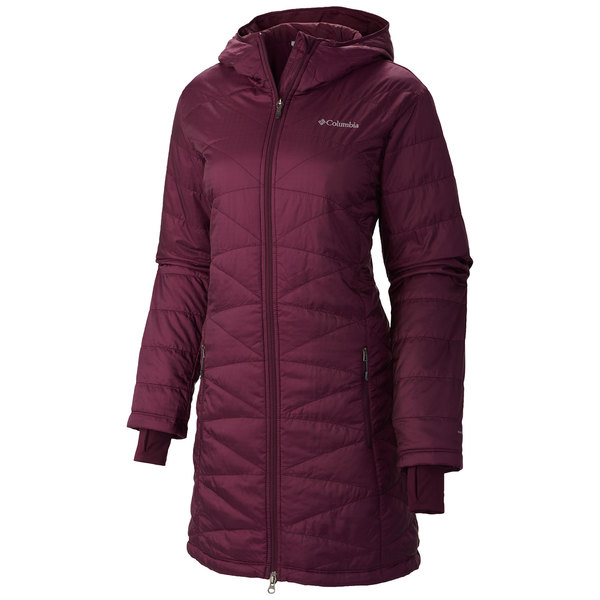 Columbia Women's Mighty Lite Hooded Jacket Purple Dahlia