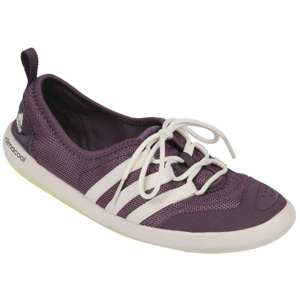 Adidas Women's CLIMACOOL Boat Sleek Shoe Ash Purp/chlk Wt/fzn Yllw Sale $60.00 SKU: 16541849 ID# B33135-5-8.5 UPC# 888597143023 :