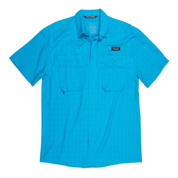 Blacktip Men's Grand Slam Plaid Shirt Blue Sale $54.99 SKU: 15839137 ID# BTA22-81-2X UPC# 25282171712 :