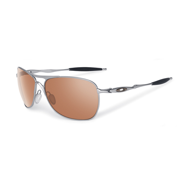 Oakley Eyewear Crosshair Sunglasses, Chrome Frames with VR28 Silver/black Iridium Lenses