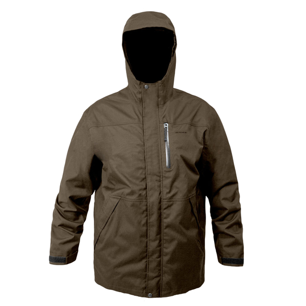 Grundens Men's Weather-Boss Hooded Parka Brown Sale $184.99 SKU: 16655193 ID# WBPMXS UPC# 7332525018219 :