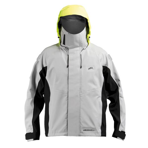 Men's Zhik AroShell Race Jacket Gray Sale $395.00 SKU: 14278345 ID# JKT351ASHL :