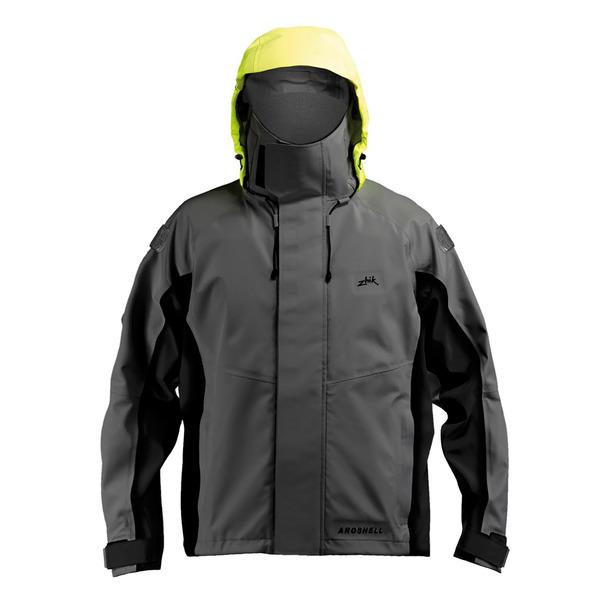 Men's Zhik AroShell Race Jacket Gray Sale $395.00 SKU: 14278428 ID# JKT351GYXL :