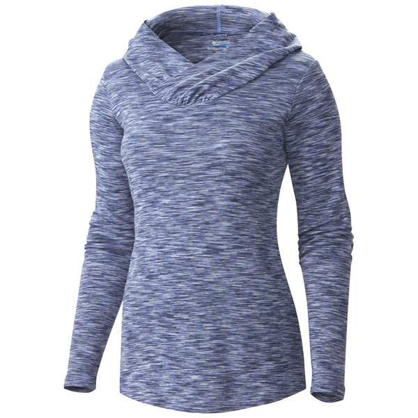 Columbia Womens Outerspaced Hoodie Blue