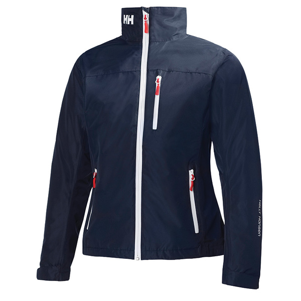Helly Hansen Women's Crew Midlayer Jacket Navy Sale $160.00 SKU: 15045412 ID# 30317-597-S UPC# 7040053153332 :