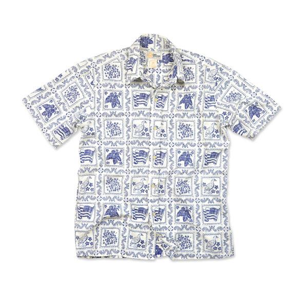 Reyn Spooner Men's Lahaina Sailor Woven Shirt Brown