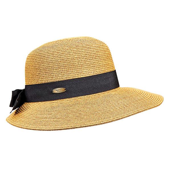 Dorfman Pacific Paper Braid Cloche Black Sale $24.99 SKU: 15191851 ID# WMSW164-BLK UPC# 16698168465 :