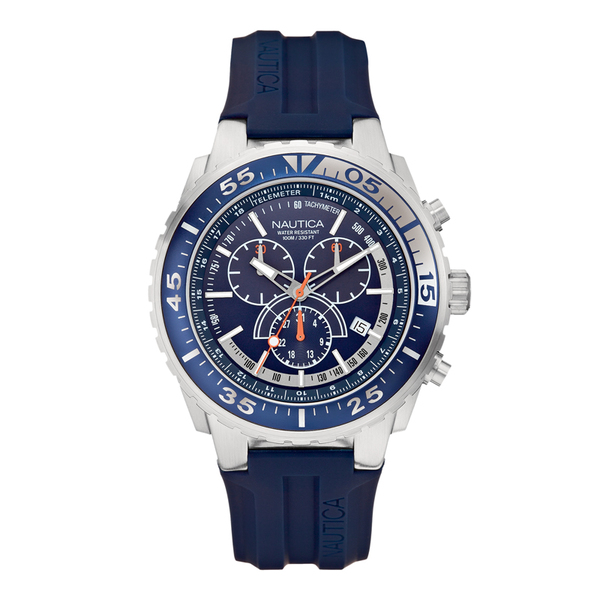 Nautica NST 700 Chronograph Watch Navy