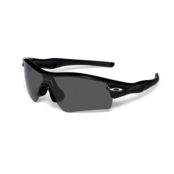 Oakley Radar Path Sunglasses, Jet Black/gray Frames with Gray Lenses
