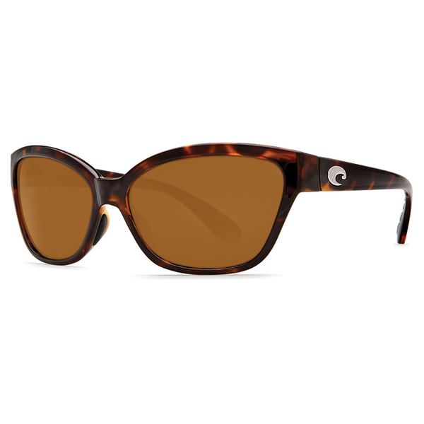 Costa Women's Starfish 580P Sunglasses Retro Tortoise Frames with Amber Lenses Tortoise/amber