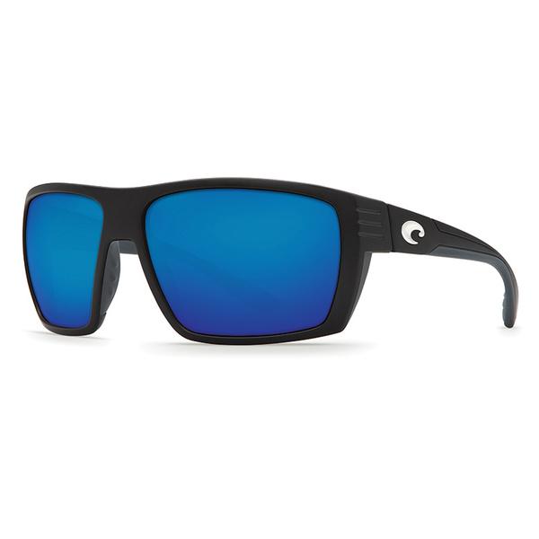 Costa Hamlin Sunglasses Black Frames with Black/blue Mirror 580G Lenses