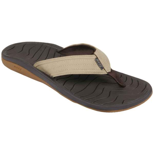Reef Men's Swellular Cushion Lux Sandals Brown/dark Brown
