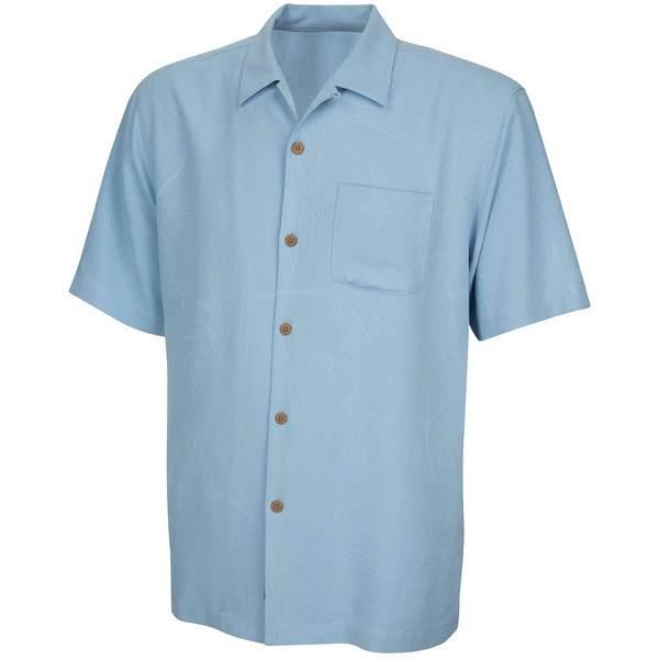 Tommy Bahama Men's Bedarra Garden Short Sleeved Shirt Blue Sale $73.50 SKU: 16323982 ID# T37373-4117-L UPC# 15404754329 :