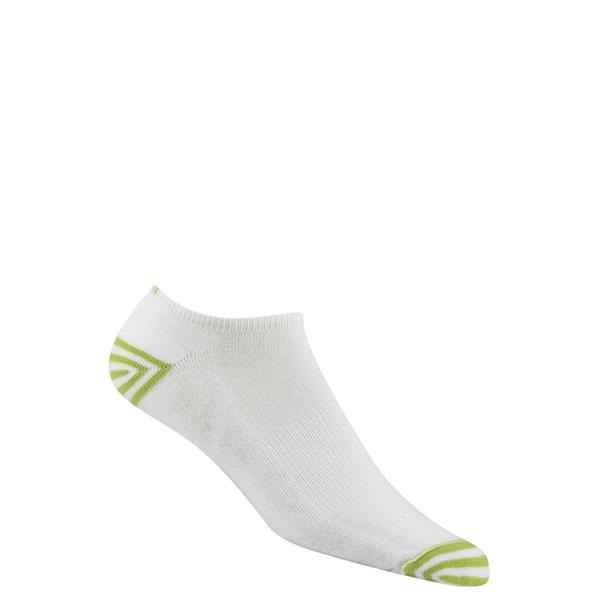 Wigwam Inspire Low-Cut Socks White/green Sale $7.99 SKU: 15757560 ID# F1258 15H MD UPC# 48323492416 :