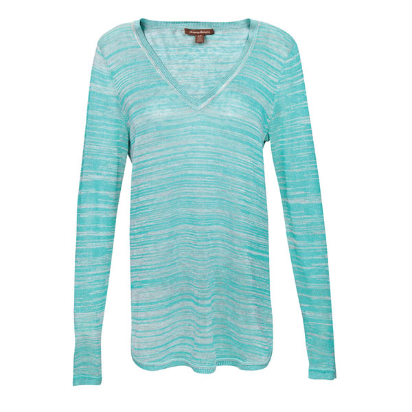 Tommy Bahama Women's Holmby Sweater Teal