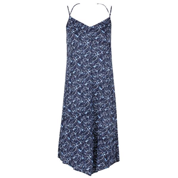 Tommy Bahama Women's Verde Leaves Dress Blue