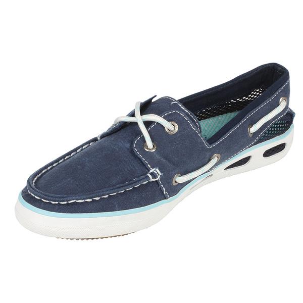 Columbia Women S Vulc N Vent Boat Canvas Shoes West Marine