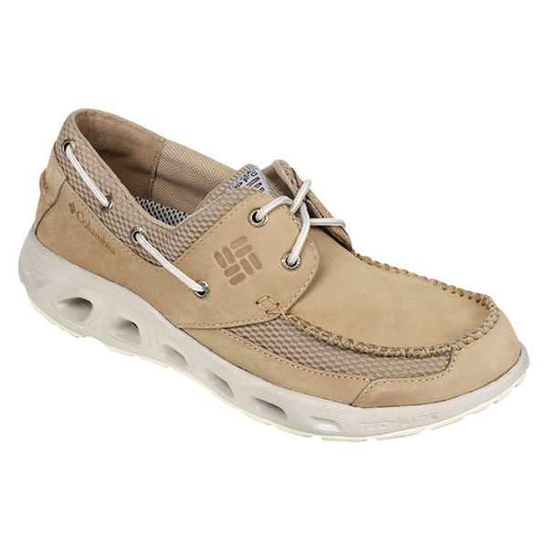Columbia Men's PFG Boatdrainer II Shoes Tan